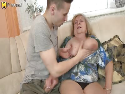 Huge breasted mature women