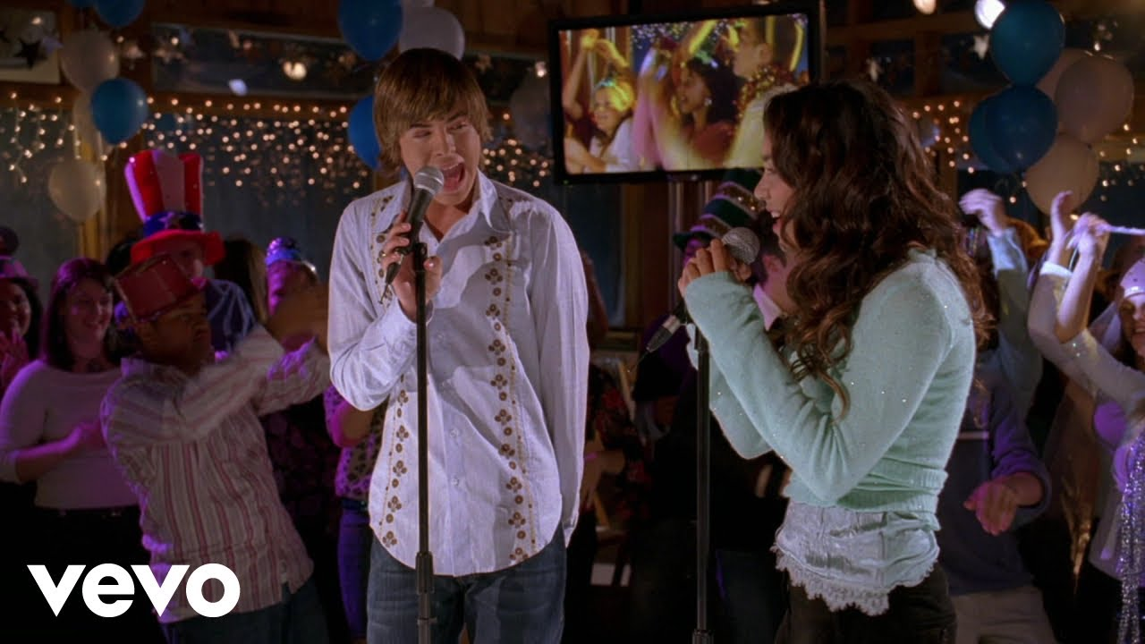High school musical new years eve party