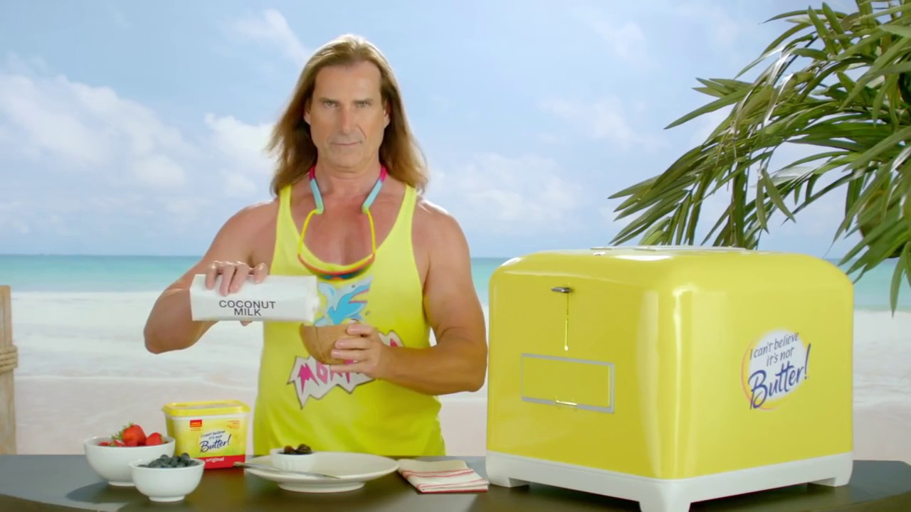 Fabio i can t believe its not butter