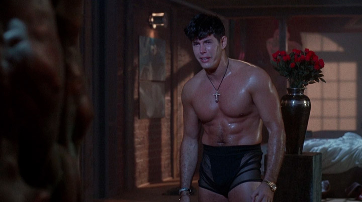 Naked male scenes in horror movies