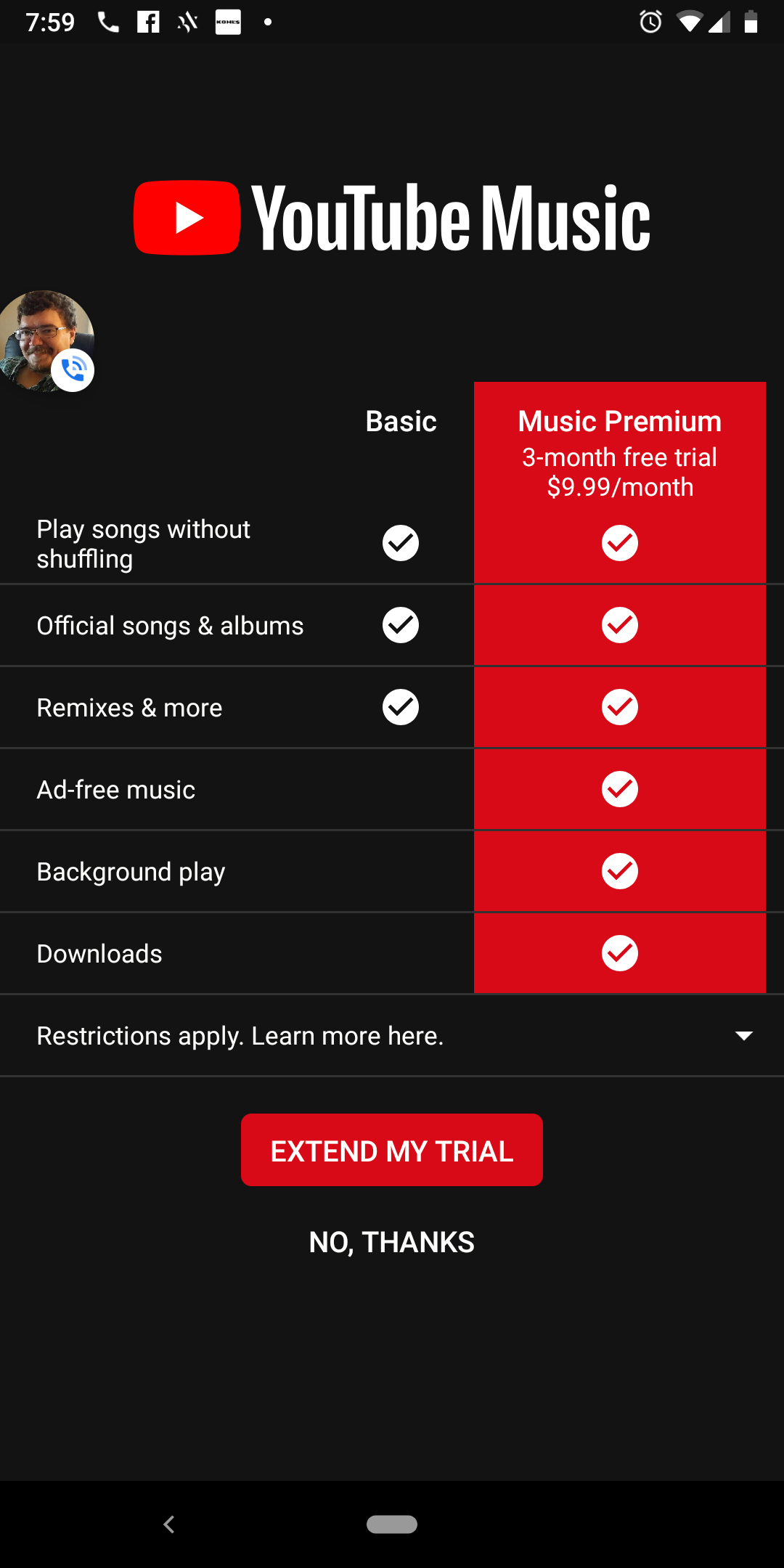 No subscription music apps